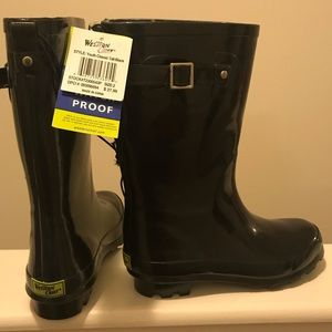 NWT Western Chief tall classic rain boot 2 youth